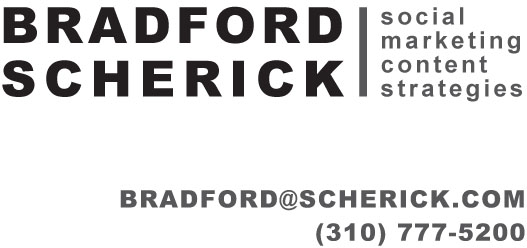 Bradford Scherick Business Card